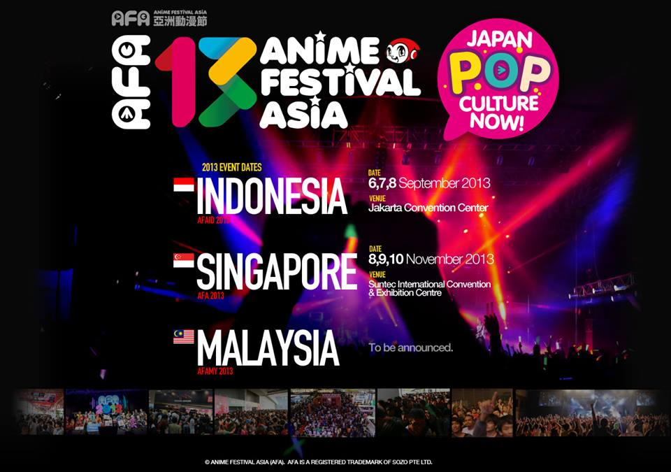 The First Anime Festival Asia Indonesia In 2012 Attracted Over 40000 2 Days Event Ending A Resounding Success Following This And