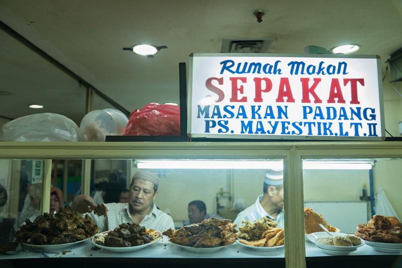 Rumah Makan Padang Sepakat di Jakarta