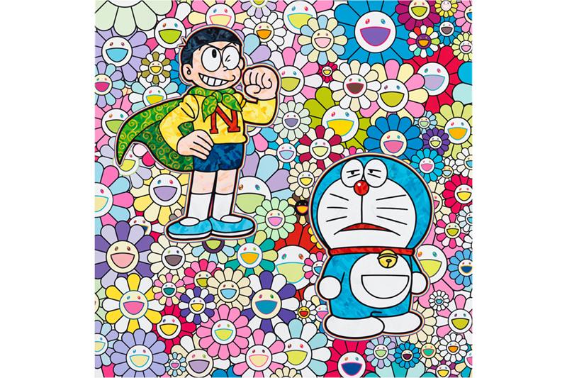 Takashi Murakami Tampilkan Lukisan Doraemon Baru Di Perrotin Tokyo