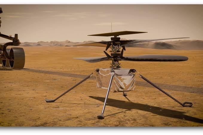 Helikopter NASA - Ingenuity